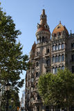 Building in Barcelona Royalty Free Stock Photography