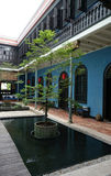 Beautiful building of Cheong Fatt Tze - The Blue Mansion in Geor Stock Photo