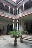 Beautiful building of Cheong Fatt Tze - The Blue Mansion in Geor Stock Images
