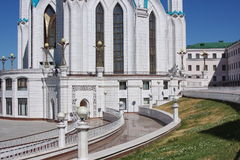 The beautiful building is in city Kasan Royalty Free Stock Photo
