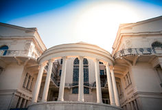 Beautiful building with columns Stock Images