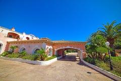 Beautiful building in Costa Smeralda Royalty Free Stock Photos