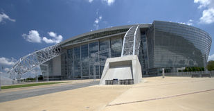 Beautiful building cowboy stadium Stock Photo