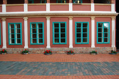 Beautiful building facade Royalty Free Stock Image