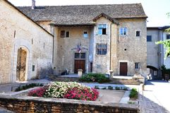 Beautiful building in France. France has some beautiful buildings with nice entrances Stock Images