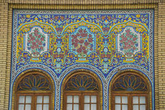Beautiful building in  Golestan Palace, Tehran,Iran. Beautiful building in  Golestan Palace in Tehran,Iran Royalty Free Stock Photo