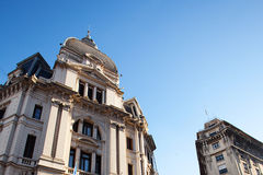 Beautiful building in the heart of Buenos Aires Royalty Free Stock Photo