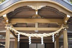 Beautiful building Japanese style, Futarasan shrine Royalty Free Stock Photography