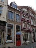 Beautiful Building in Maastricht stock images