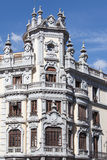 Beautiful building, Madrid, Spain Royalty Free Stock Photography