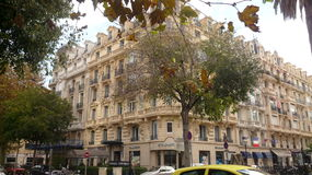 Beautiful building in Nice Stock Image