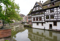 Beautiful building in old town of Strasbourg Royalty Free Stock Image