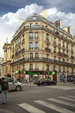 Beautiful building in Paris Royalty Free Stock Photography