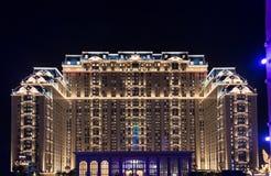 The beautiful building of The Parisian Macao Royalty Free Stock Photos