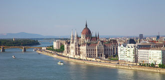 Beautiful building of the Parliament in Budapest, Hungary Stock Photography