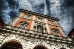 Beautiful building in Piazza Garibaldi Royalty Free Stock Photo