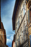 Beautiful building in Siena Royalty Free Stock Photos