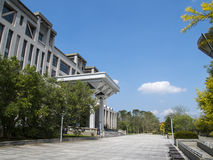 Beautiful building in Taiwan school royalty free stock photography