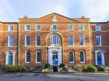 Beautiful building of University of Chichester Royalty Free Stock Photos