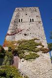 Beautiful building at Villa Rufolo. Ravello,Italy Royalty Free Stock Image