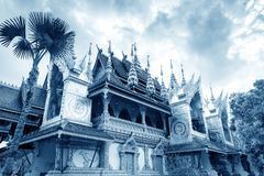 Xishuangbanna temple architecture Stock Photography
