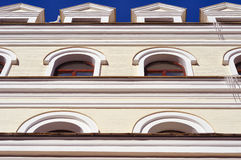 Beautiful buildings in classic style Royalty Free Stock Photo