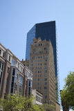 Beautiful buildings in downtown Fort Worth royalty free stock photos