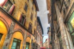 Beautiful buildings in Pisa in hdr Stock Image