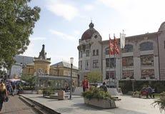 Beautiful buildings in Terazije street, Belgrade. Serbia Stock Photo