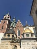 Wawel Castle in Krakow Poland royalty free stock photos
