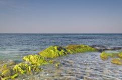 Beautiful  Bulgarian resorts landscapes Stock Photos