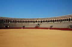 Beautiful bullfight arena in S Stock Photos
