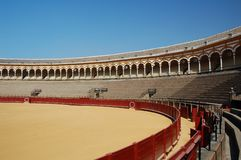 Beautiful bullfight arena in S Stock Photography