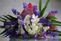 Beautiful bunch of fresh flowers Stock Photo