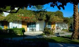 Beautiful bungalow at modern resort Royalty Free Stock Photos