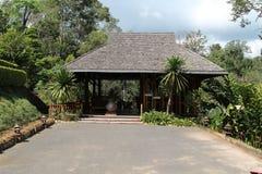 Beautiful bungalow resort Royalty Free Stock Photos