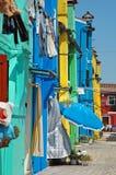 Beautiful Burano stock image