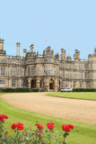 Beautiful Burghley House Stock Photo