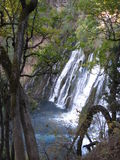 Beautiful Burney Falls stock photo