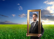 Beautiful business Royalty Free Stock Photography