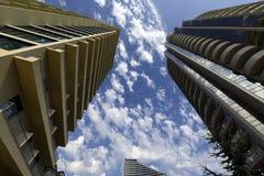 Beautiful business building Stock Image