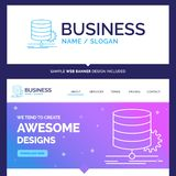 Beautiful Business Concept Brand Name Algorithm, chart, data, di vector illustration