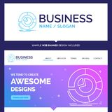 Beautiful Business Concept Brand Name Analysis, analytics, busin vector illustration