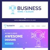 Beautiful Business Concept Brand Name Analysis, Search, informat royalty free illustration