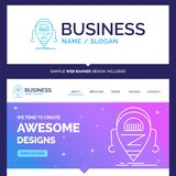 Beautiful Business Concept Brand Name Android, beta, droid, robo stock illustration
