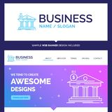 Beautiful Business Concept Brand Name Architecture, bank, bankin stock illustration