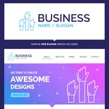 Beautiful Business Concept Brand Name Aspiration, business, desi royalty free illustration