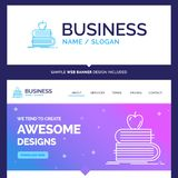 Beautiful Business Concept Brand Name back to school, school, st vector illustration