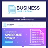 Beautiful Business Concept Brand Name Binary, code, coding, data vector illustration