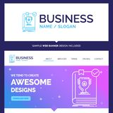 Beautiful Business Concept Brand Name 554, Book, dominion, leade vector illustration